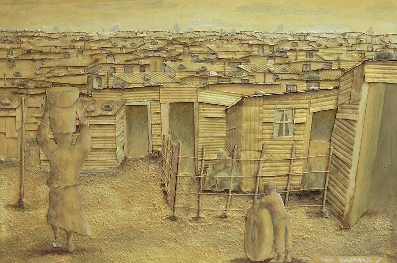 VUSI KHUMALO, INFORMAL SETTLEMENT IN YELLOW 2016