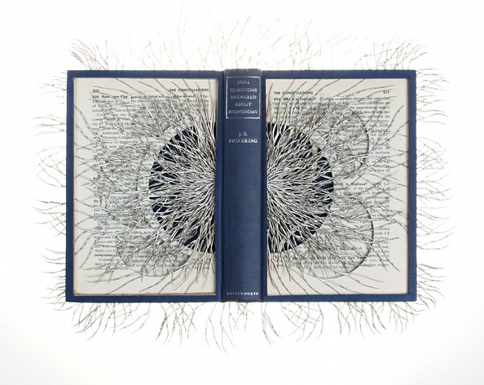 BARBARA WILDENBOER, Ologies (Astronomy) 2016, Altered Book