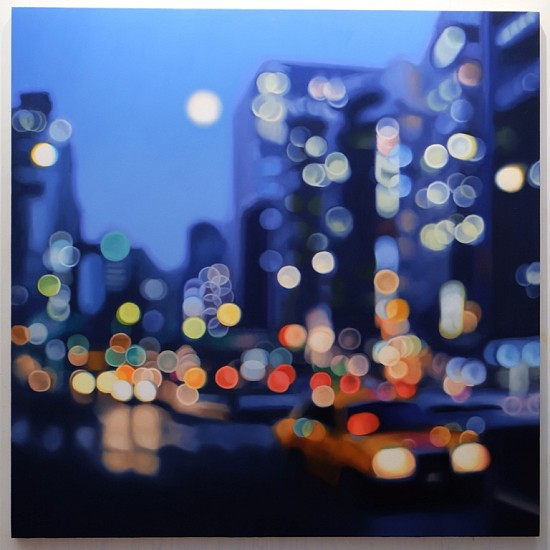 PHILIP BARLOW, 168 Lights 2015, Oil on Canvas