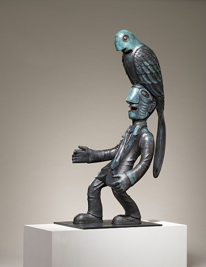 NORMAN CATHERINE, BIRD MAN II (MEDIUM) 2019, Bronze